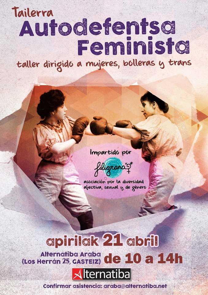 Taller no-mixt Autodefensa feminista